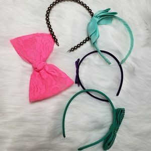 Headband and bow bundle